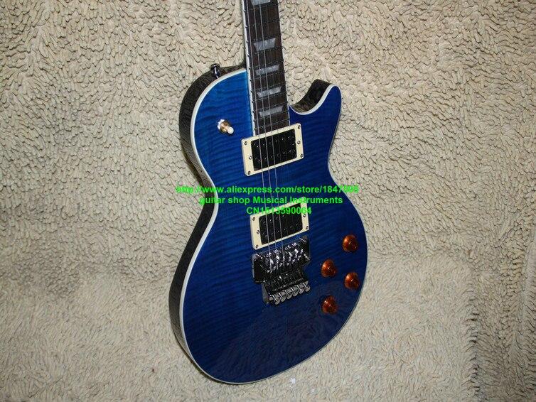 Blue flame топ стандарт электрогитара axcess высокого качества guitars oem бесплатная доставка