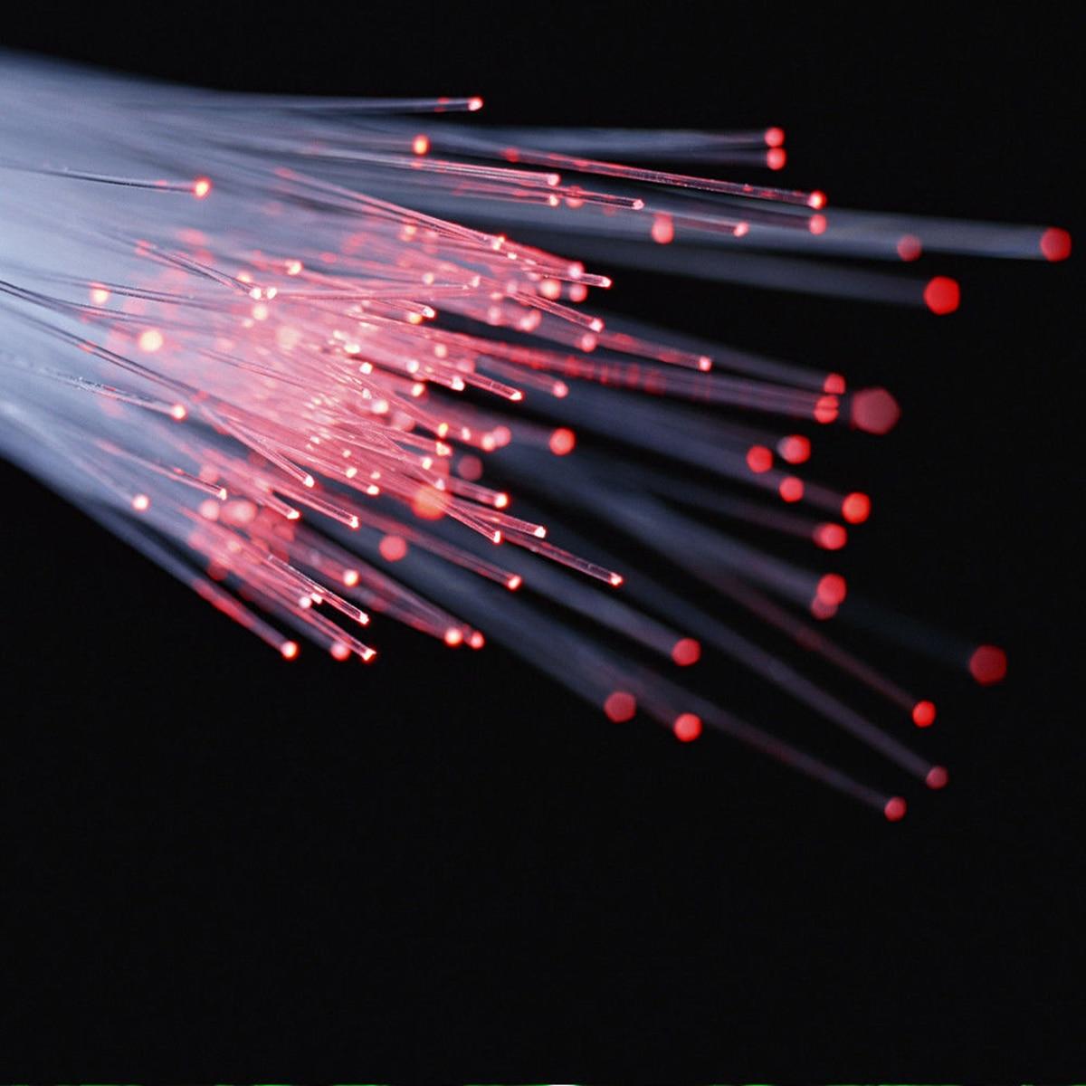 50PCS Sparkle Flash PMMA Plastic Fiber Optical Cable Decor Light Fiber Optic Light Line Kit For LED Fiber Optic Wedding Decor