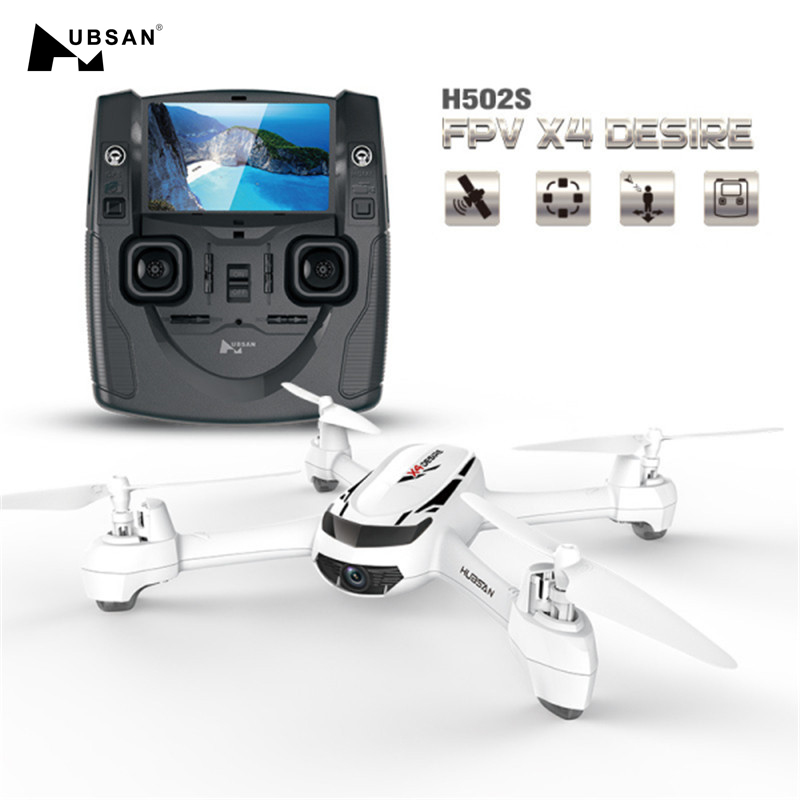 Hubsan Camera Rc-Quadcopter Altitude One-Key-Return Headless-Mode FPV X4 with 720P HD