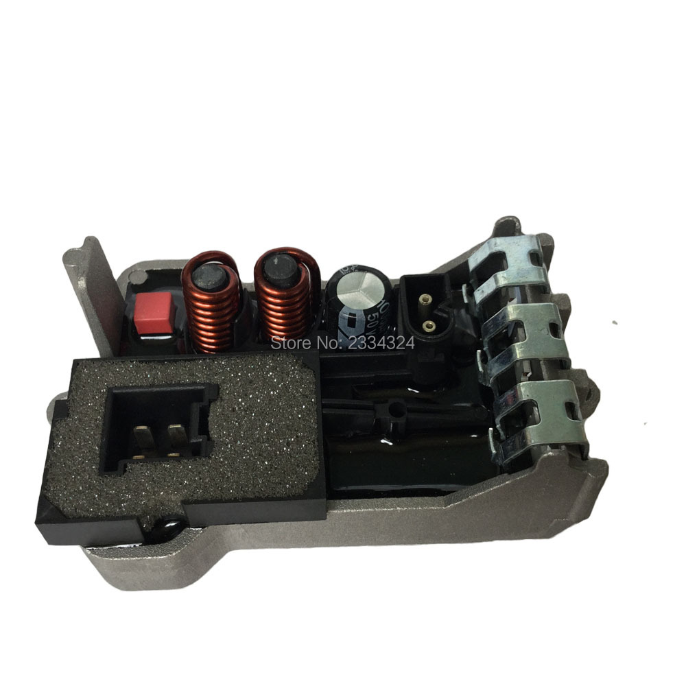 Heater blower fan motor final stage resistor for mercedes for Mercedes benz spare parts price list