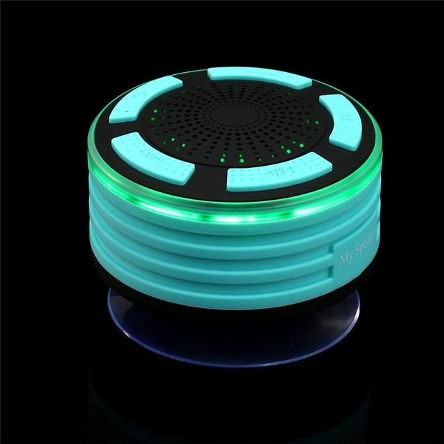 Лучшая цена! Bluetooth Душ Динамик Водонепроницаемый Портативный Беспроводной Динамик с fm Радио Бесплатная доставка NOM08