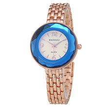 BSL963 BAOSAILI Brand Fancy Watch Dial Slim Alloy Band Watch Rose Gold Ladies Dressing Watches