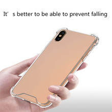 Transparent Tpu For Iphone 6 6s 7 8P X Xs Xr Max Business Two-In-One Airbag Anti-Fall Mobile Phone Case