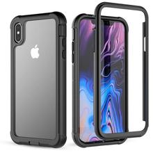 For iPhone XS Case life water Shock Dirt Snow Proof Protection for iPhone 5.8 With Touch ID Cover for iphone xs max waterproof case life water shock dirt snow proof protection for iphone xs max 6 5 with touch id case cover