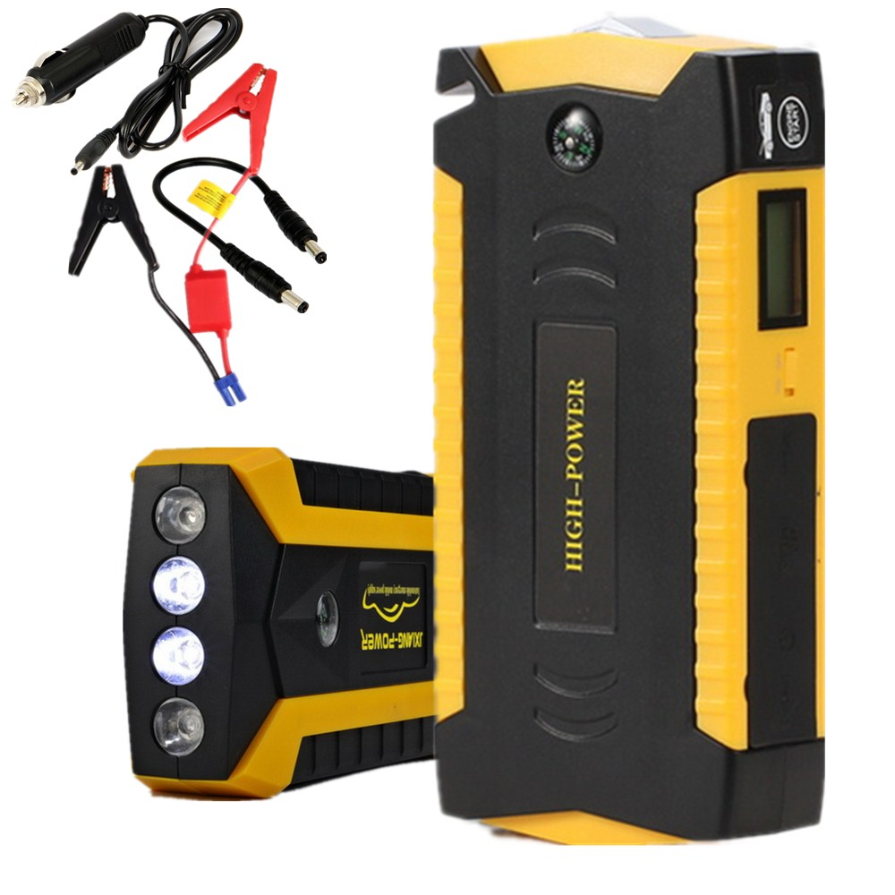 Best Selling Portable Battery Charger Portable Mini Car Jump Starter Booster Power Bank For 12V Car