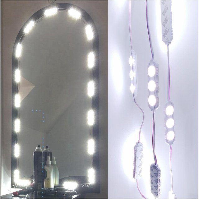 diy lighting kits. Aimbinet 60 Leds 9.8 FT Make-up Vanity Mirror DIY Light Kits For Cosmetic Makeup Diy Lighting P