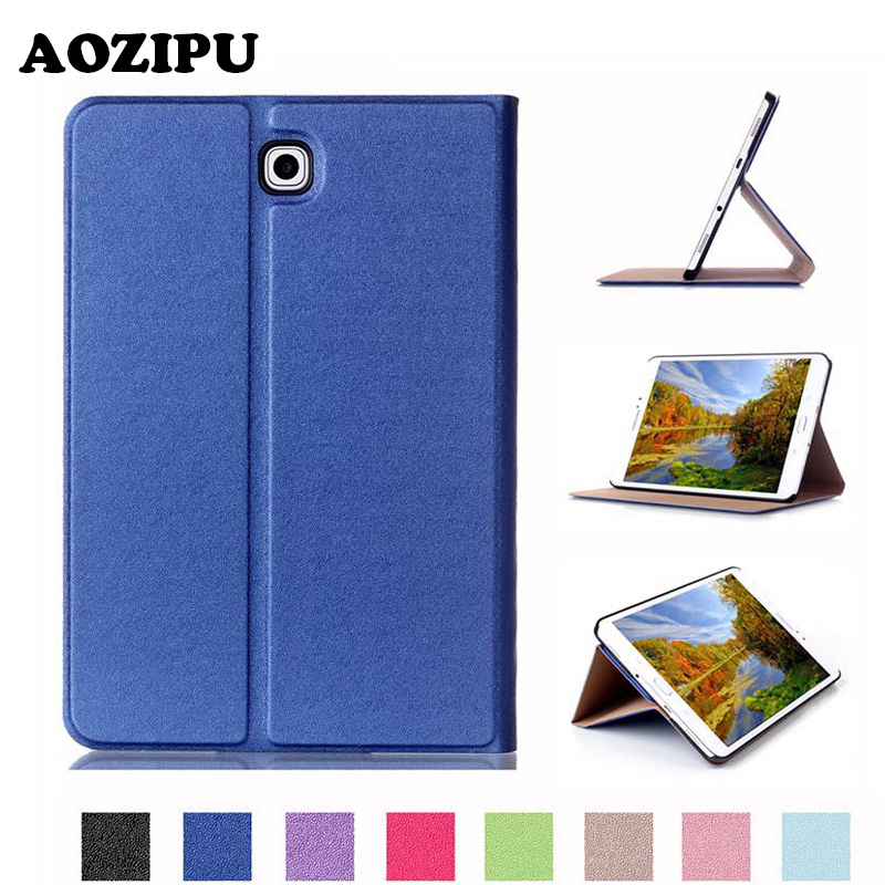 Luxury Protective Stand Cover PU Leather Magnet Tablet Case for Samsung Galaxy Tab S2 8.0 T710 SM-T715 T715 8inch eBook protective pu leather case cover stand for samsung galaxy tab 4 8 0 t330 black