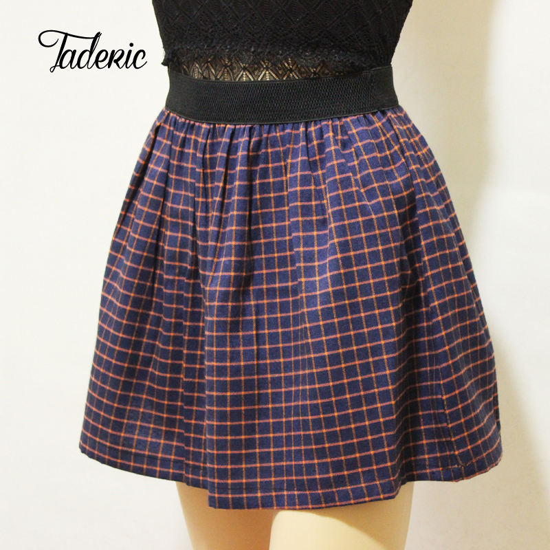 Online Buy Wholesale cute plaid skirts from China cute plaid ...