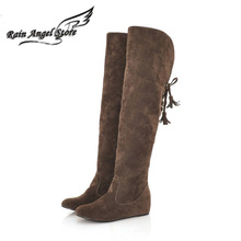 Cheap suede thigh high boots online shopping-the world largest ...