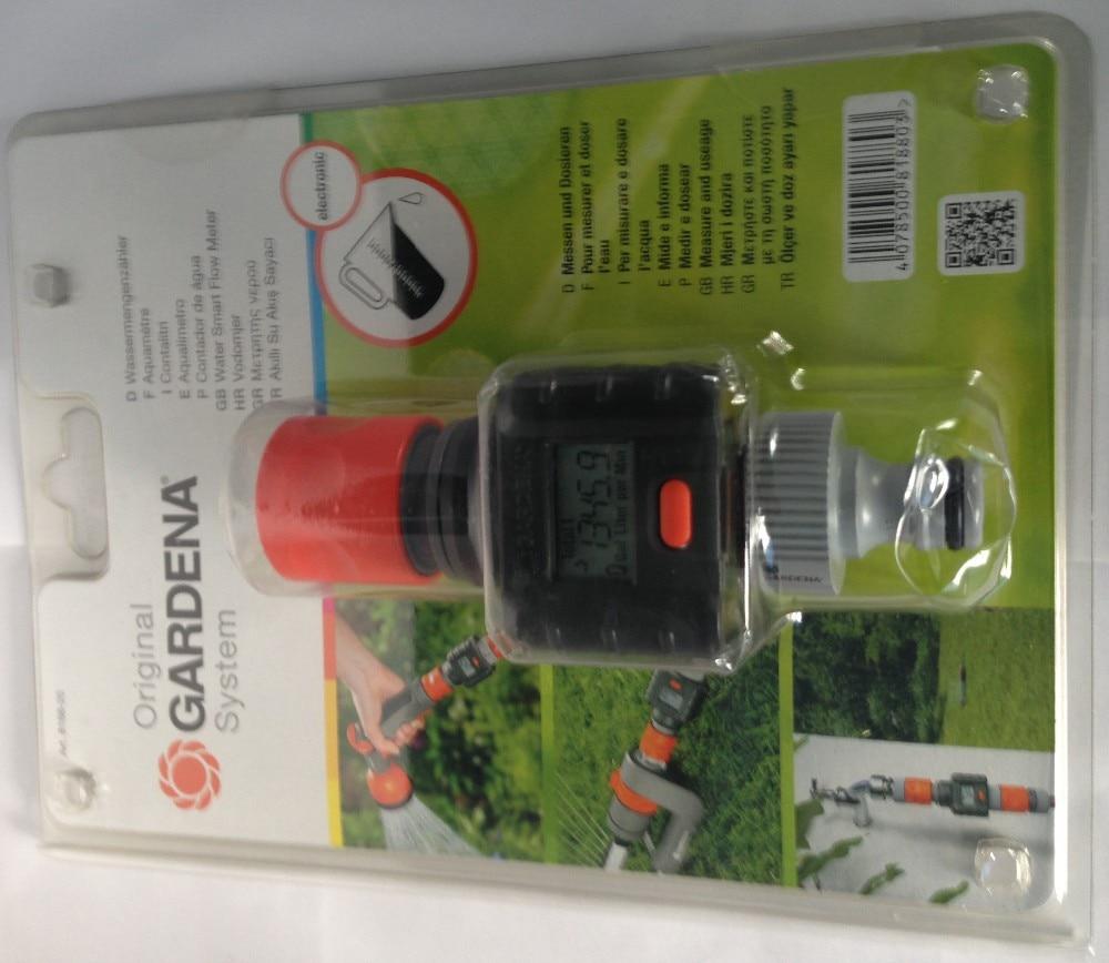 2-30 l//min. Wassermengenzähler Gardena® Wassermengenzähler Durchflusszähler