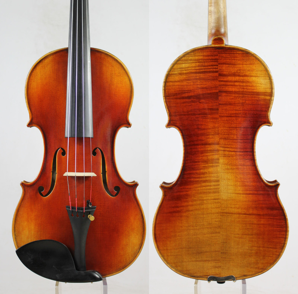 Special Offer!!!Guarneri 1743 Cannon 4/4 Violin Violino Powerful Tone!