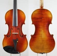 Специальное предложение! Guarneri 1743 Cannon 4/4 cкрипка violino мощный тон! «Все европейские деревянные» Бесплатная доставка!