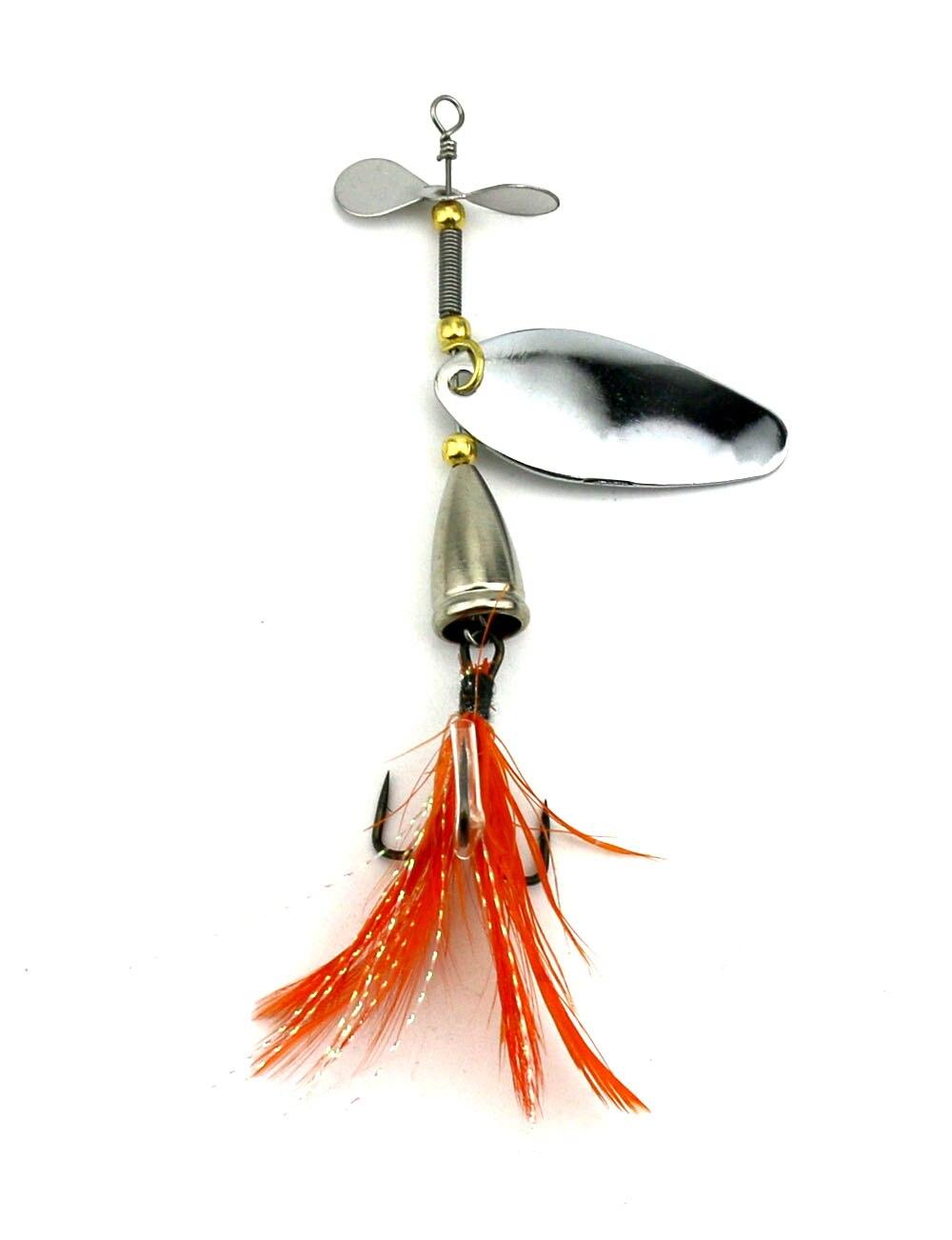 5 pcs isca de pesca prata spinner 04