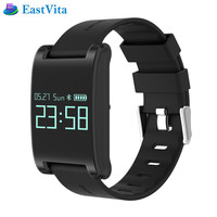 2019 New DM68 Smart Band Fitness Activity Tracker Cicret Bracelet Blood Pressure Oxygen Heart Rate Tracker for Android IOS r30