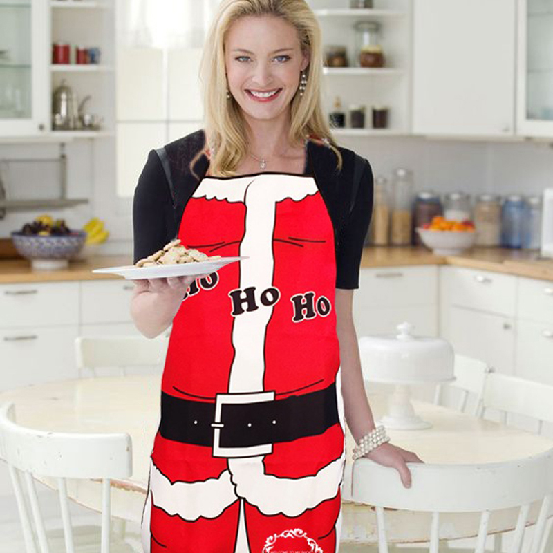 Symbol Of The Brand 10 Pieces/lot Wholesale Christmas Decoration 3d Funny Santa Apron Adult Size Man & Sexy Woman Cloth Pinafore Whimsy Party C026