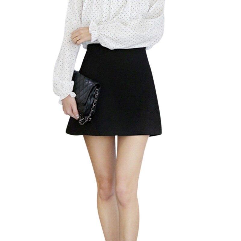 Women Summer Split Skirt   Shorts   Fashion High Waist Zip Skirt Women's   Shorts