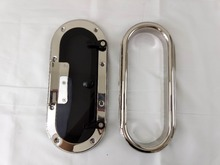 13.6*5.9 inch 345*150mm 316L Stainless Steel Oval Shape Opening Portlight Porthole Window Hatch For Marine Boat Yacht