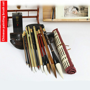 Image 5 - Traditional Chinese Painting Brush Set Soft Woolen Hair Chinese Calligraphy Brushes Ink Painting Hook Line Pen Painting Supplies