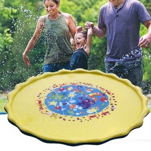 Kids Water Sprinkle and Pad Play Mat Diameter Sprinkle Play Mat