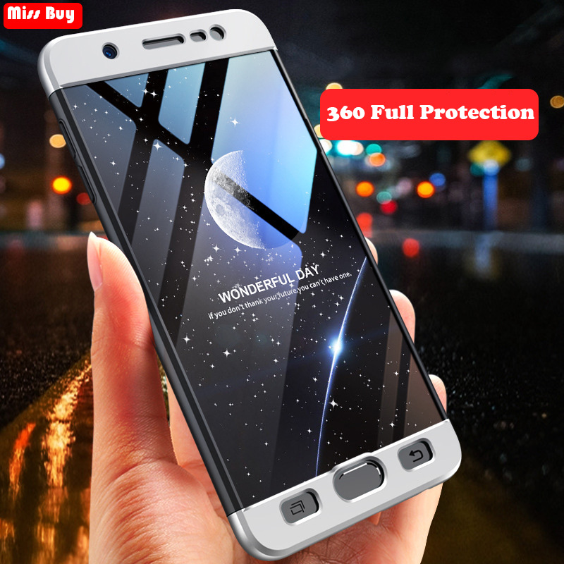 4c67a25bb8d GKK Original Case For Samsung Galaxy A6 Plus J2 Pro 2018 J6 J7 Duo J7 Max  360 Full Protective 2 in 1 Hard Matte PC Cover Coque-in Fitted Cases from  ...