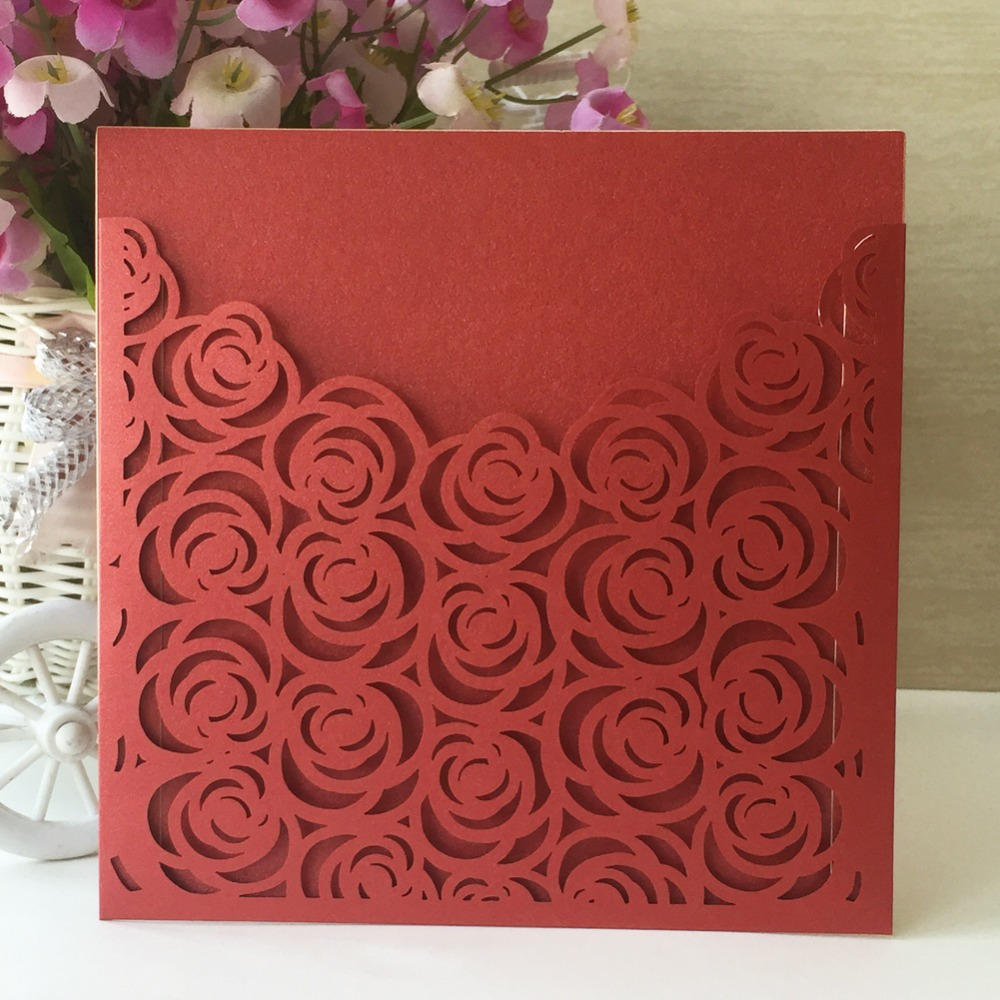 35pcs Laser cut Pearl Paper Christening Greeting Blessing card ...