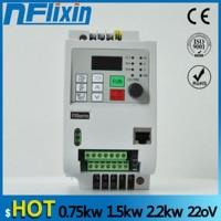 0.4KW/1.5KW/2.2KW/4KW/5.5KW 220V Single phase inverter input VFD 3 Phase Output Frequency Converter Adjustable Speed 220V VFD