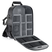 Neewer Camera Bag Waterproof Shockproof Partition 11x6x14 Protection Backpack For SLR DSLR Mirrorless Camera Lens Battery