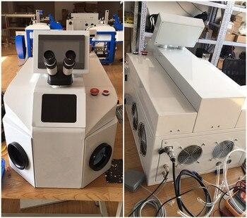 Горячая продажа Портативный 100 Вт 200 Вт jewely лазерная сварочная машина для goldsmiths Лазерная паяльная машина с лучшей ценой