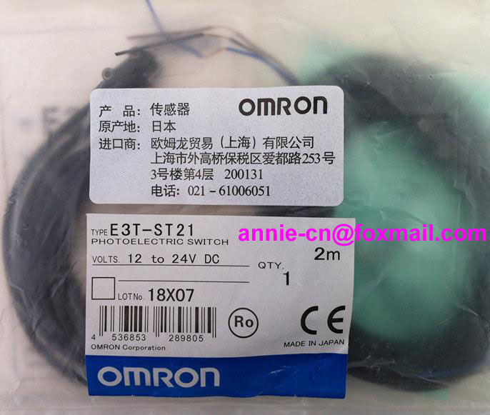 New and original  E3T-ST21  OMRON  Photoelectric switch   2M  12-24VDC   Photoelectric sensor  цены