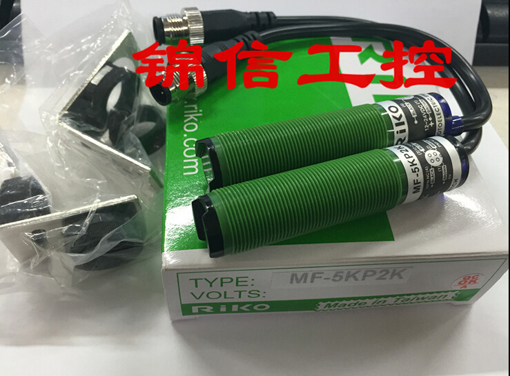 new original MF-5KP2K RIKO photoelectric sensor new original taiwan riko lecroy riko sensor square photoelectric switch r3jk r5kp2 with reflector plate