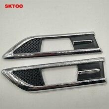 купить SKTOO turn signal ABS electroplating side lamp decoration box used for Chevrolet Cruze 2009-2015 car accessories car-styling по цене 614.42 рублей