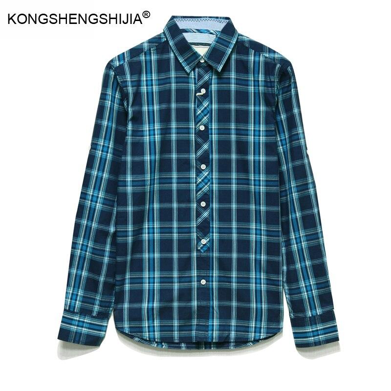 Online Get Cheap Mens Green Plaid Shirt -Aliexpress.com | Alibaba ...