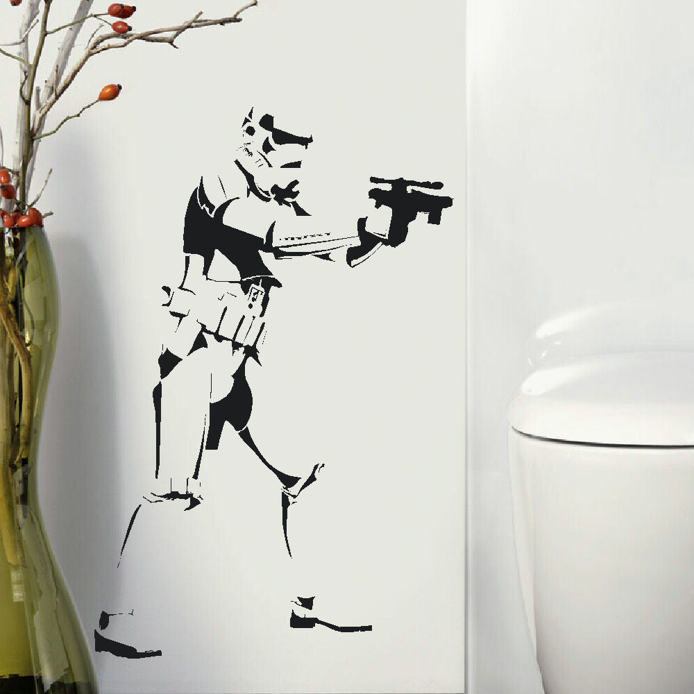 star wall mural promotion shop for promotional star wall mural on d327 large star wars storm trooper big childrens bedroom wall mural sticker transfer