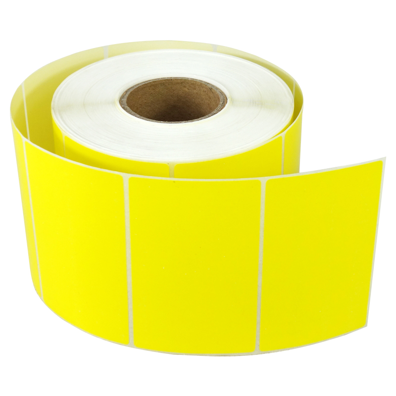 (1 Roll ) Color Thermal Sticker Label   80MM  X 50MM  Blue Green Purple Orange Yellow Brown Colorful Labels  For Zebra Printer