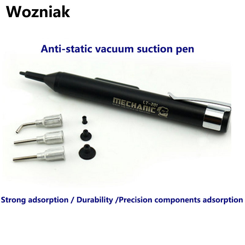 цены Wozniak Anti-static vacuum suction pen to learn electronic components IC chip suction tool