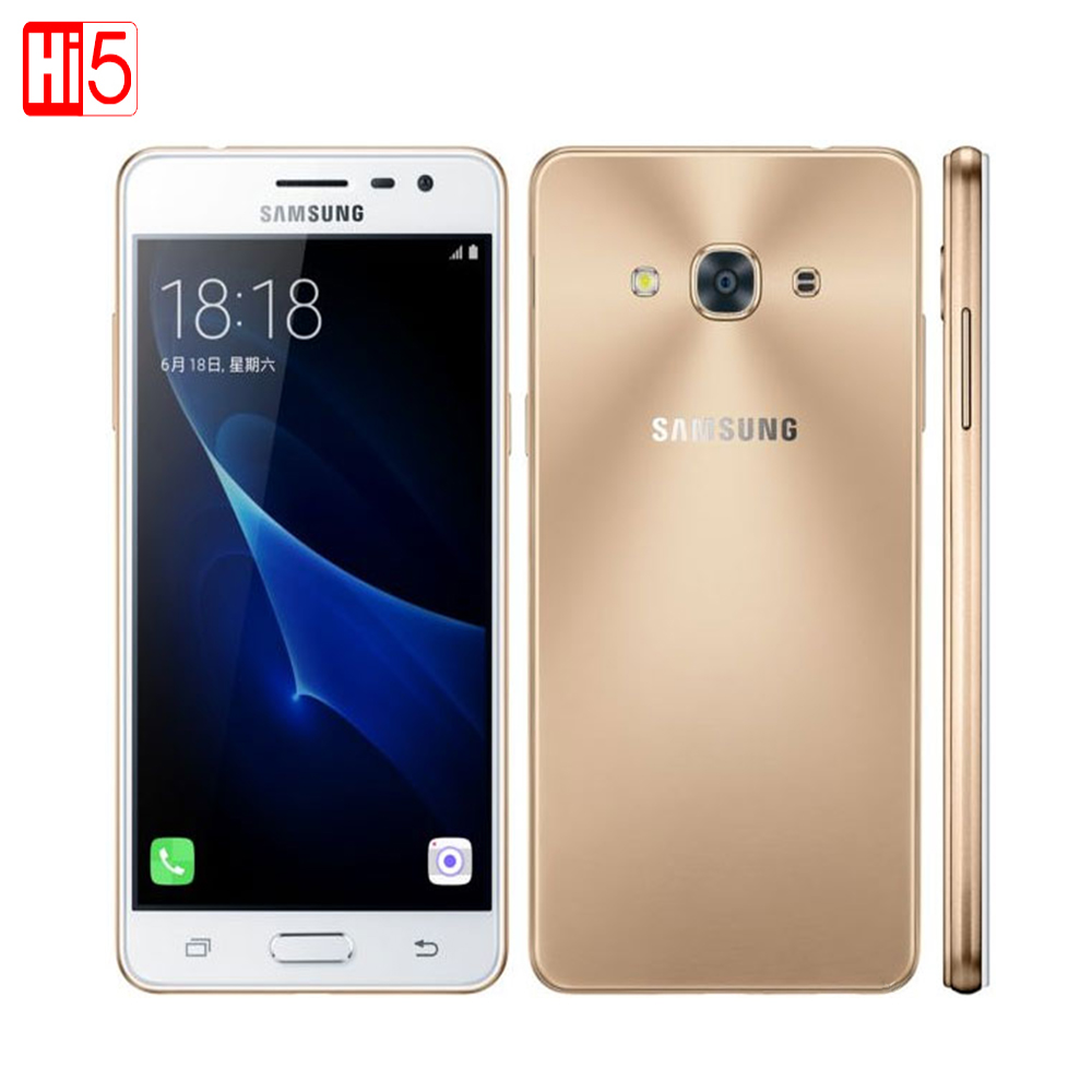 "Samsung Galaxy J3 PRO 5.0"" Dual SIM Qualcomm MSM8916 Quad Core 2GB RAM 16GB ROM 2600mAh 8.0MP 4G LTE Android Mobile Phone"