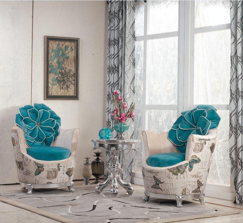 European Style Living Room Beautiful Sofa Chair/ Leisure Chair