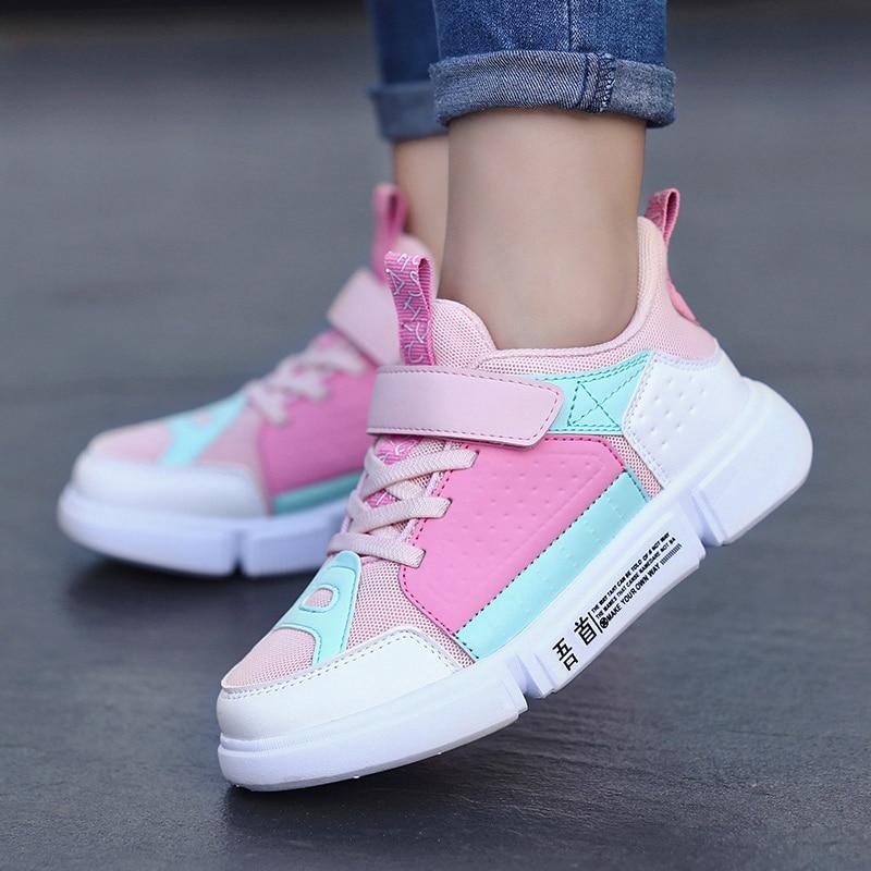 Esporte sapatos infantis kinder schuhe kinderschoenen jongens kinderen schoenen sapatos meninas crianças meninos sapatilhas crianças para a menina