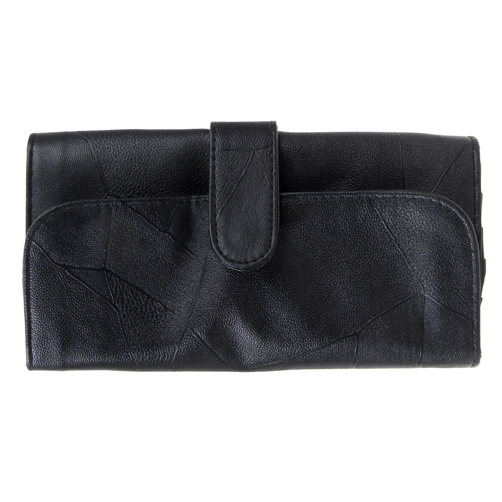12/18/24 Slots Black Makeup Brushes Case Faux Leather Cosmetic Pens Roll Holder Bag Pouch for Standard Length Brushes