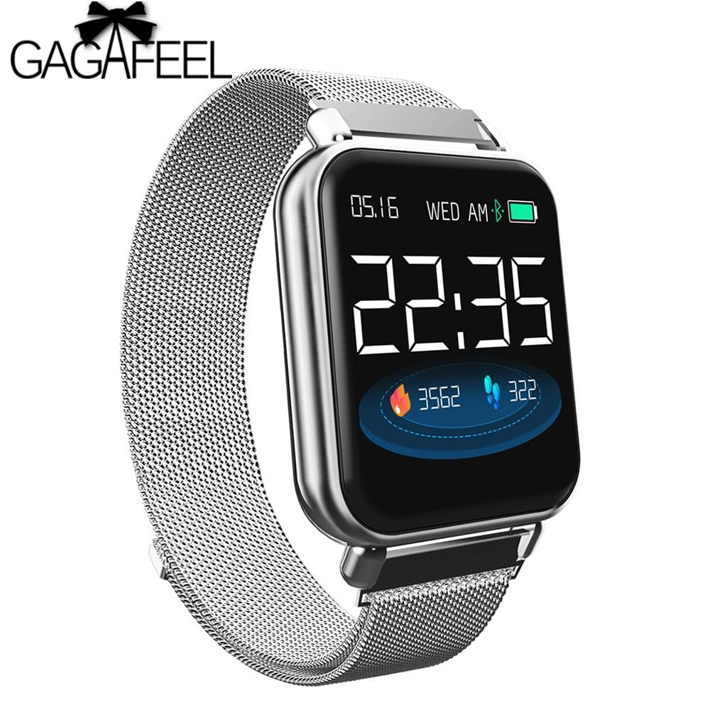 Y6pro 1.3inch Fun Dynamic Icon Smart Watch Blood Pressure Heart Rate Monitor Alarm Life Waterproof Sports Smartwatch Wristband