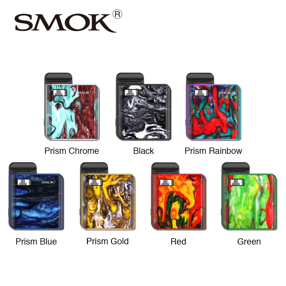Original SMOK MICO Kit with 700mAh Mico Battery 10-26W MICO MOD Electronic Cigarette Vape 1.7ml Cartridge Pod Mesh MTL Vaping