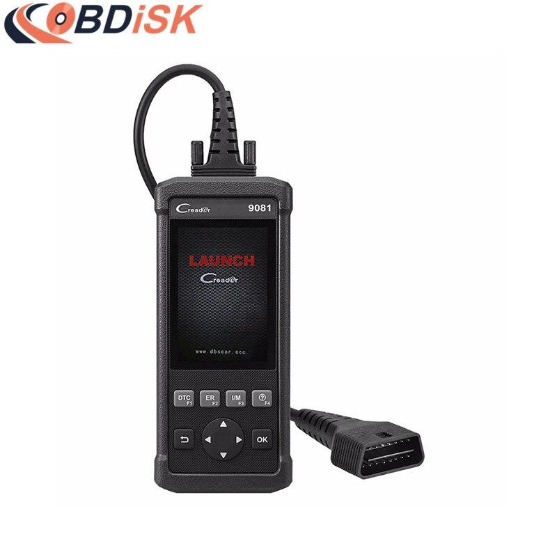 Цена за Запуск CR9081 DIY инструмент диагностики Creader 9081 полный OBD2 сканер + ABS + SRS + масло + EPB + bms + SAS + DPF