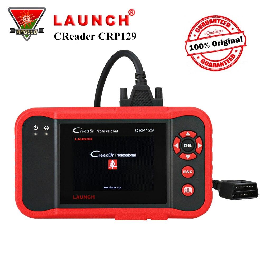 Старт X431 Creader CRP129 OBD2 автомобиля сканер Авто OBD инструмент диагностики для ENG/В/ABS/SRS + тормоз/масло/SAS сброса читателя код pk VIII