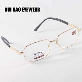 Okulary do czytania okulary do czytania w trybie prezbiopii szklane soczewki okulary okulary do czytania okulary + 4 00 óculos z grau tanie i dobre opinie 3 5cm 5 3cm WOMEN Unisex Anti-odblaskowe Jasne RUI HAO EYEWEAR ALLOY Szkło 2362