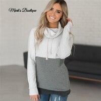 Winter Autumn 2019 Women Hoodies Fleece Warm Sweatshirt Hoodie Long Sleeve Casual Loose Pullover Sweatshirt Coat Sudaderas Mujer