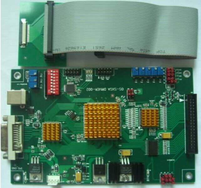 Brand New OS-SXGA LCX028 Driver lcd PCB for Doli 2300 minilab brand new lcx028 lcd for doli 2300 minilab
