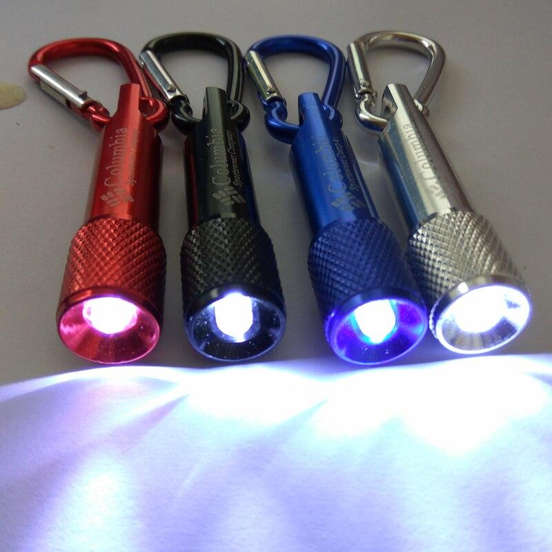 201 New Mini Keychain Aluminum Flashlight LED Torch Lanterna Waterproof Outdoor Camping Military Tactics, Emergency Lighting