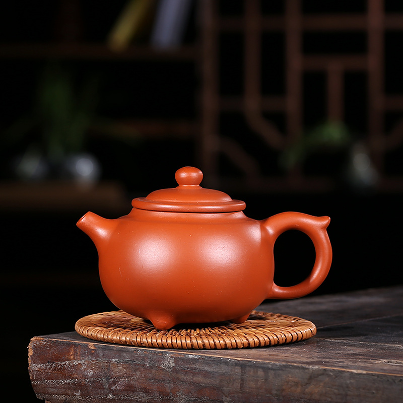 Premium 250ml Purple Clay teapot Arts,Handmade Yixing Zisha Boccaro Kongfu Pottery Filter Infuser teaset Collection gifts