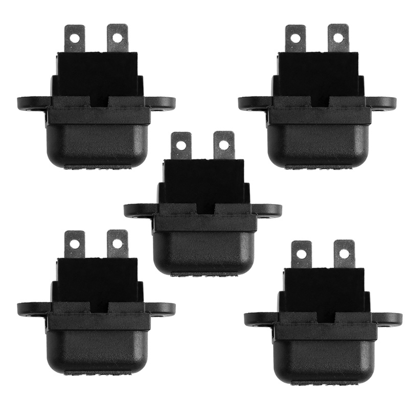 2017 NEW 5pcs Amp Auto Blade Standard Fuse Holder Box for Car Boat Truck with Cover