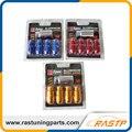 RASTP - 4Pcs/Pack D1 Spec Anti-theft Lockable  Wheel Lug Nuts with A Bolt M12x1.5 or M12x1.25  LS-LN015